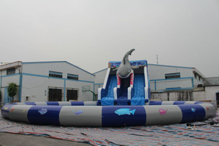 Outdoor Inflate Amusement Water Park Inflatable Water Park