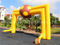 RB21052(6x4m) Inflatable yellow football Arch for advertisement