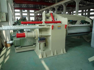 Automatic uncoiler and recoiler machine for sheet cutting machine