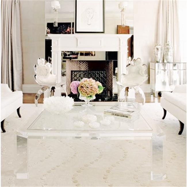 Royal Dining Room Furniture Sets Luxury Tea Table Acrylic