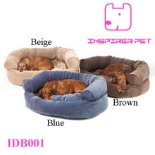 SNOOZER Overstuffed Luxury Sofa Pet Dog Bed