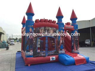 RB2015-2(4.5x5m) Inflatables The Avengers Theme Bouncy Castle For Kids