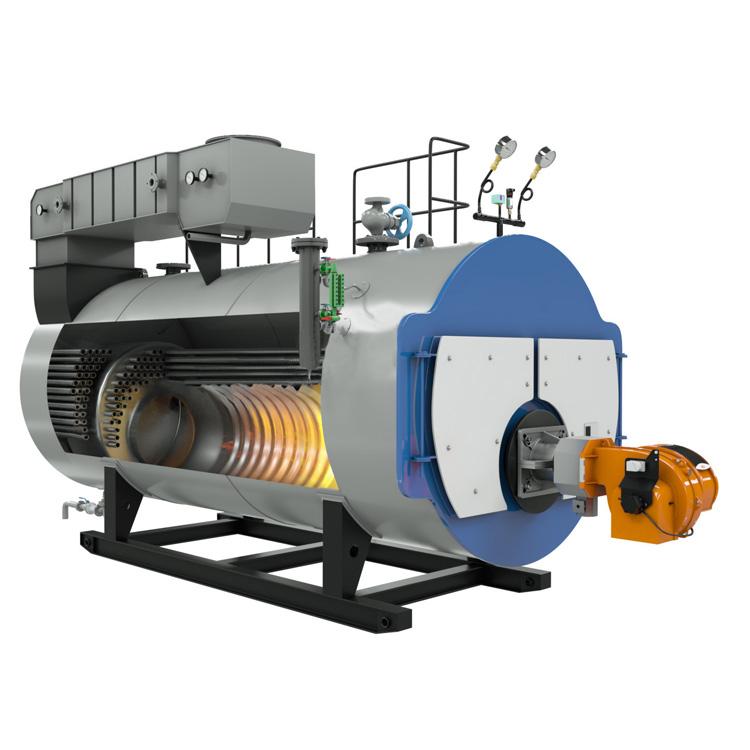Clean Fuel Condenser Model 10 Ton Gas Steam Boiler - Buy Oil Fired ...