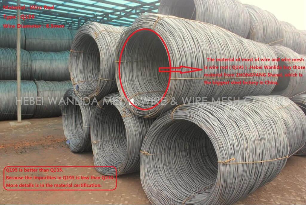 Anping factory 3mm diameter galvanized steel wire ( BV )
