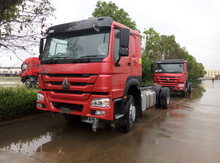 Sinotruk HOWO 6X4 Cargo Truck Cargo Chassis for Ethiopia, 371HP