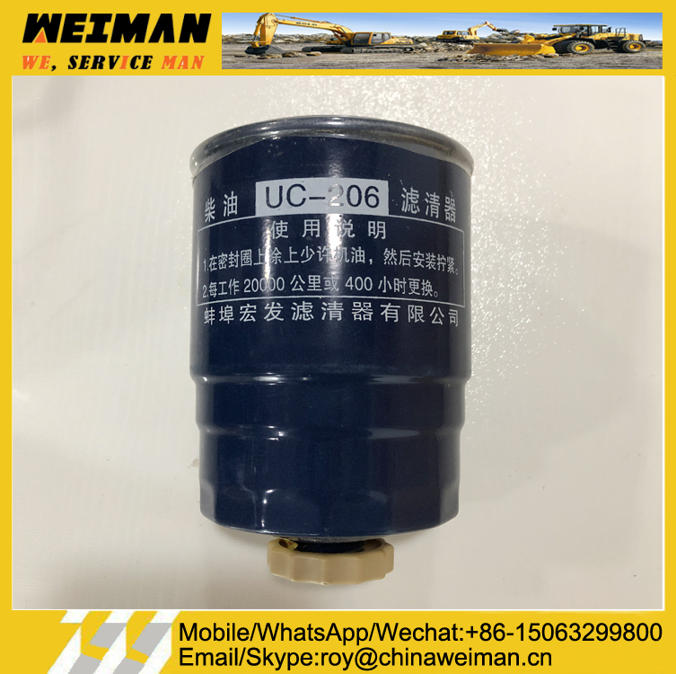 Fuel Filter UC206 for WP6G125E22 Engine