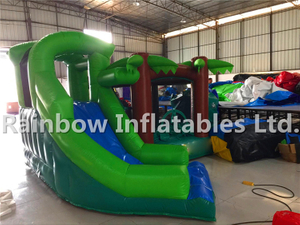 RB3081(3.5x3.3x2.6m) Inflatables Coconut trees theme Bouncer For Sale