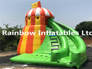 RB6072(6x5.3x7m) Inflatables pharos slide