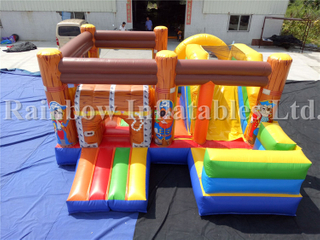 RB3060( 5x5m ) Inflatable Playground Amusement Pirate Jumping Combo