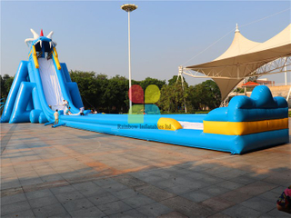 RB6082(54x15x14mh) Inflatable Long Giant Water Slide For Water Game hotsale