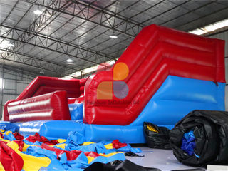 RB9132-1( 12x6.3x4.3m) Inflatable Wipeout Big Baller Obstacle Big Baller Games forsale