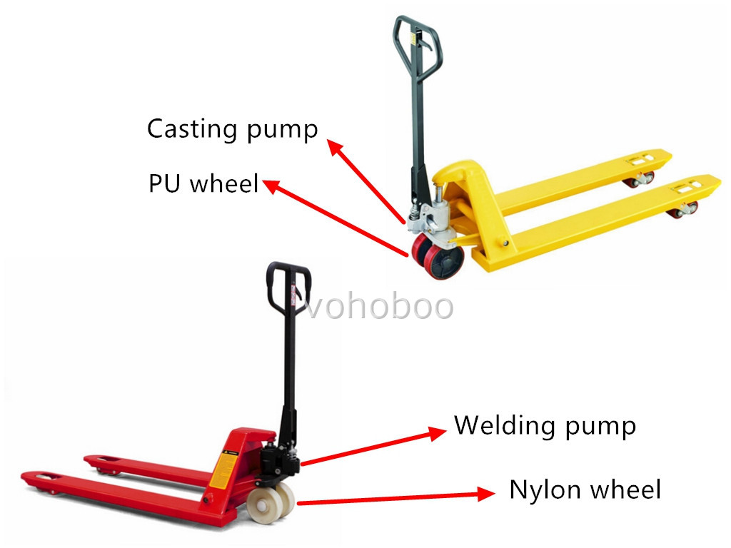 hydraulic hand truck  hand manual forklift