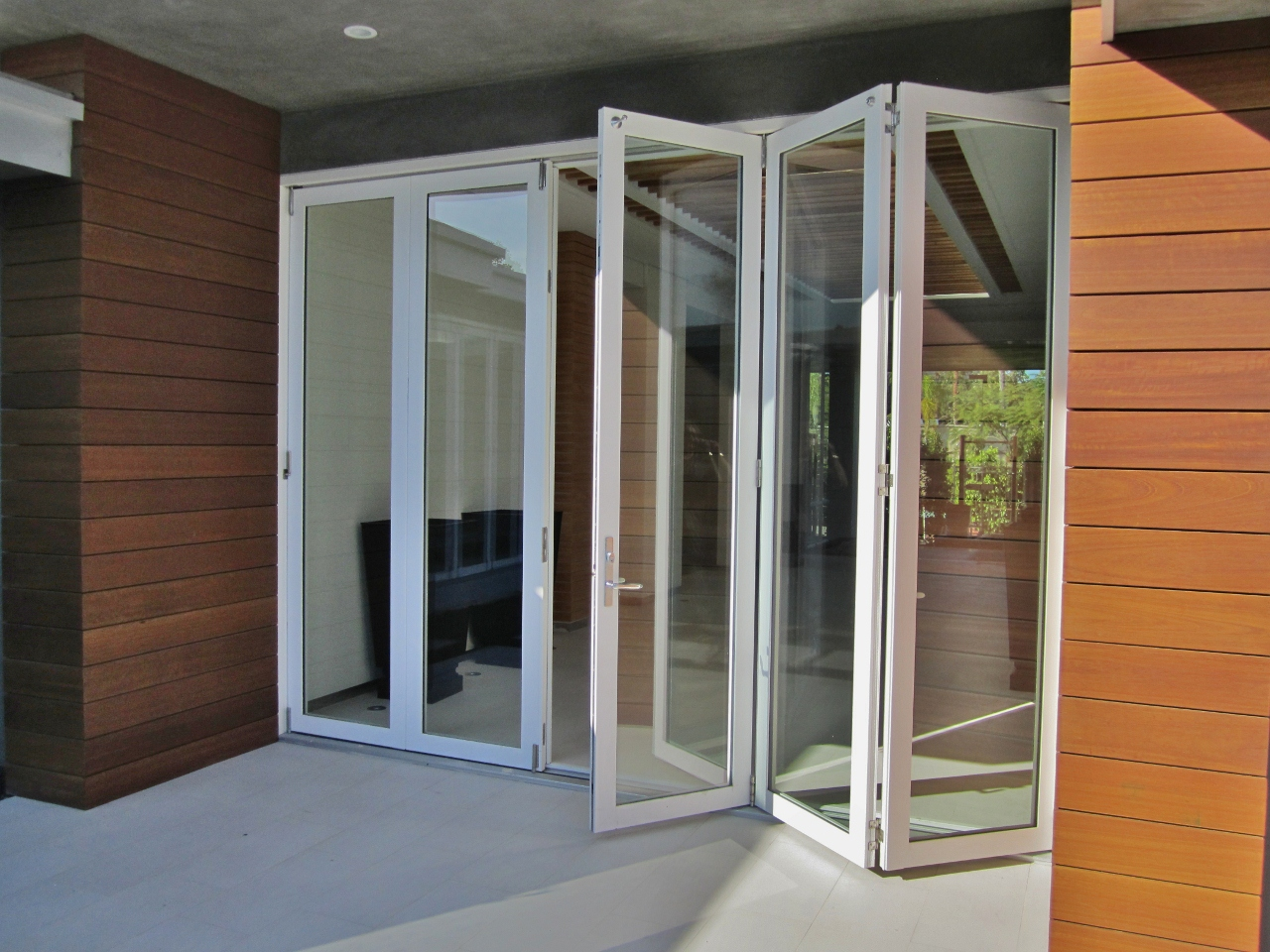 Quality aluminum bi-folding doors & Aluminum Folding Door - Buy Product on Guangzhou Topbright Building ...