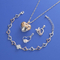 Jewelry Set With CZ Fashion Necklaces