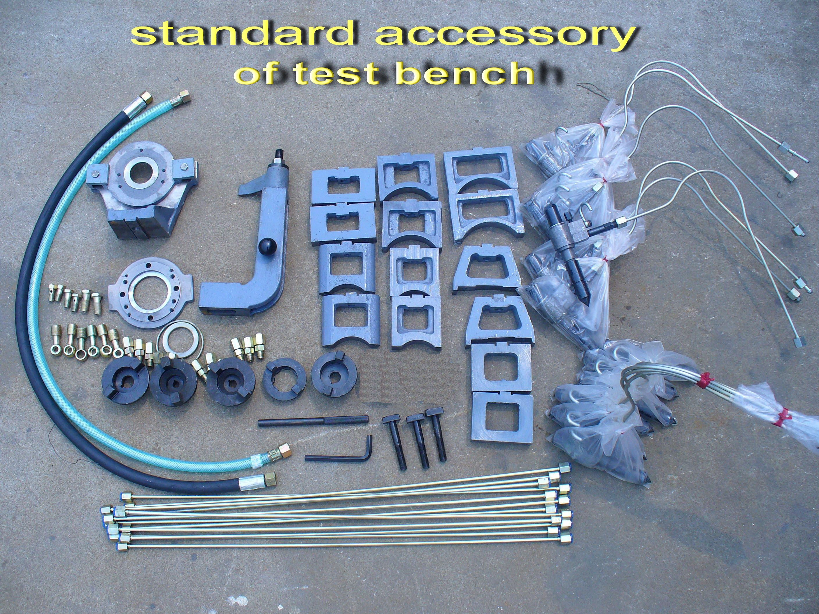 Standard accessory of test bench.jpg