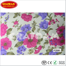 Flower Fabric EVA Foam Sheets