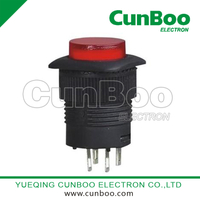 R16-504AD-BD illuminated push button switch
