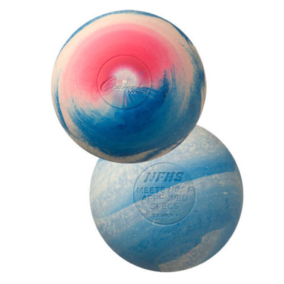 Professional multicolored lacrosse ball for training