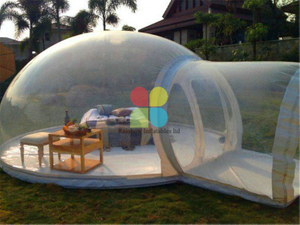 RB41053(dia4x5m) Inflatable bubble tent and inflatable camping tent for sale and commercial hot sale