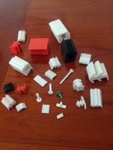 Rubber stopper plugs/pins/nails for IC shipping tube