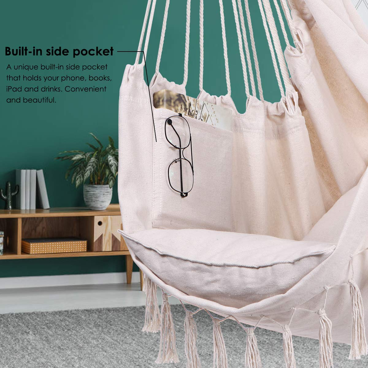 Amazon Newest Macrame Hammock Chair