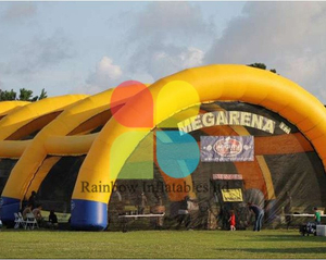 RB50026 (customized) Inflatable giant Paintball Obstacle Bunker for game