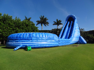 Inflatable Water Slide for Rental Business Giant Hippo Water Slide