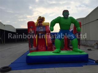 RB6038-5(5.4x3.5x4m) Inflatable The Popular Hulk Customized Slide For Children