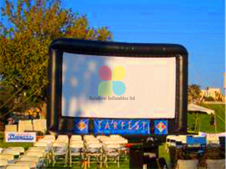 RB21061(8x5mH) Inflatable movie screen for outdoor Advertising Air Screen