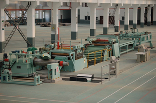 Automatic high speed metal sheet coil cut to length machine manufacturer