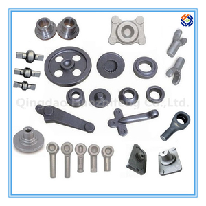 CNC Machined Auto Parts Made by Forging or Casting
