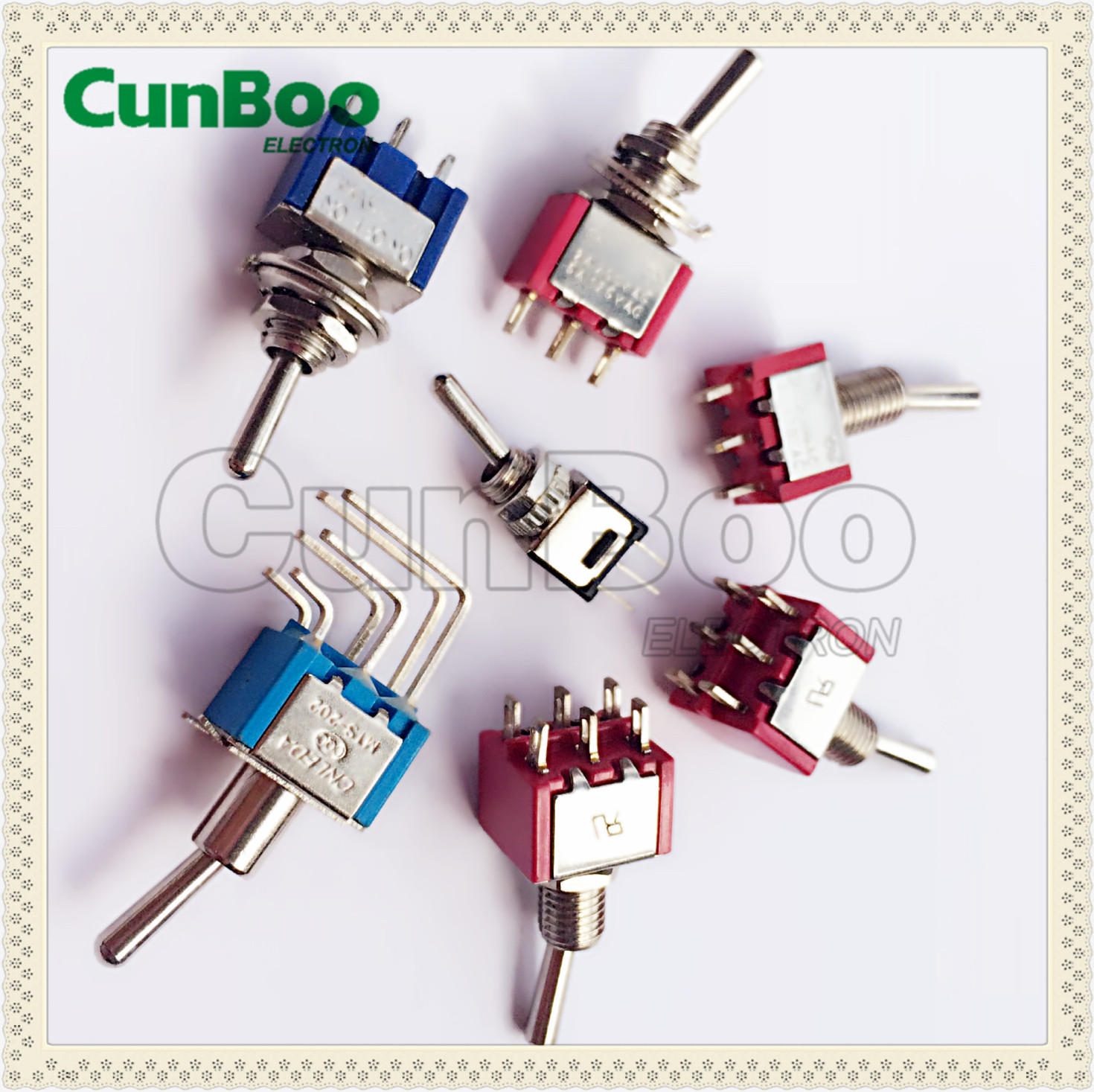 short handle red toggle switch