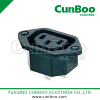 AC-12 IEC Inlet 10A 250V female socket