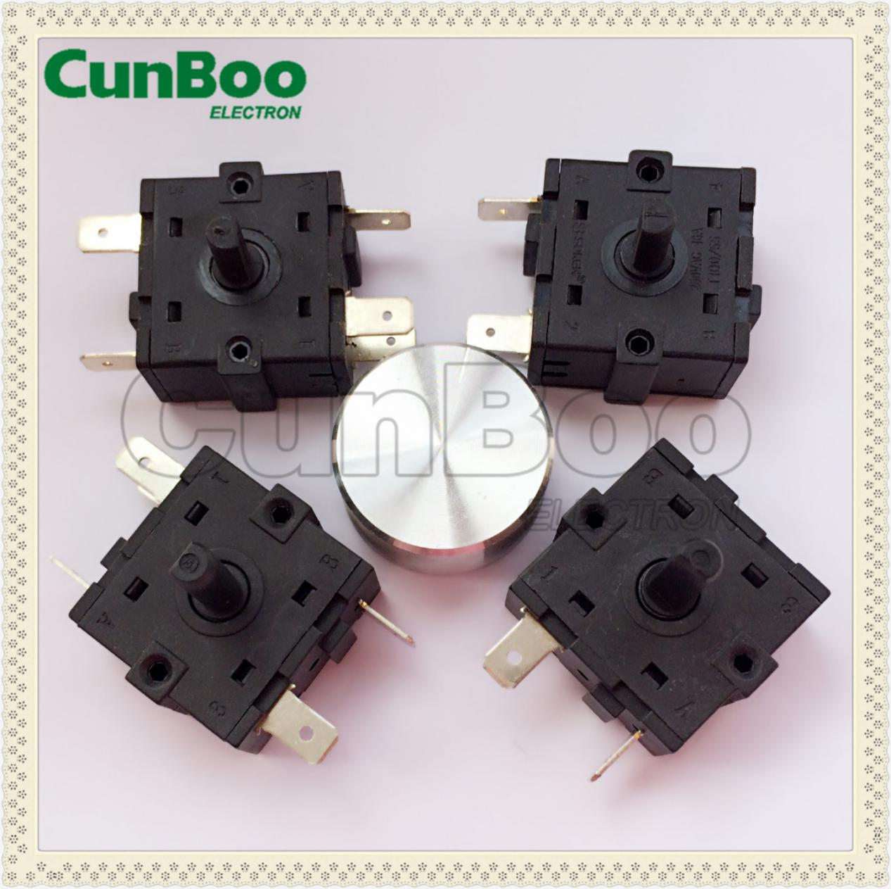 Round Rotary Switch for braker