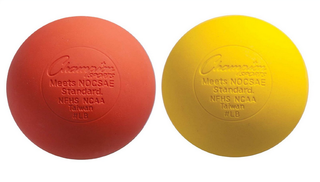 Champion lacrosse balls for team sport