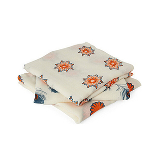 Custom printing 100% organic cotton swaddle baby muslin blanket