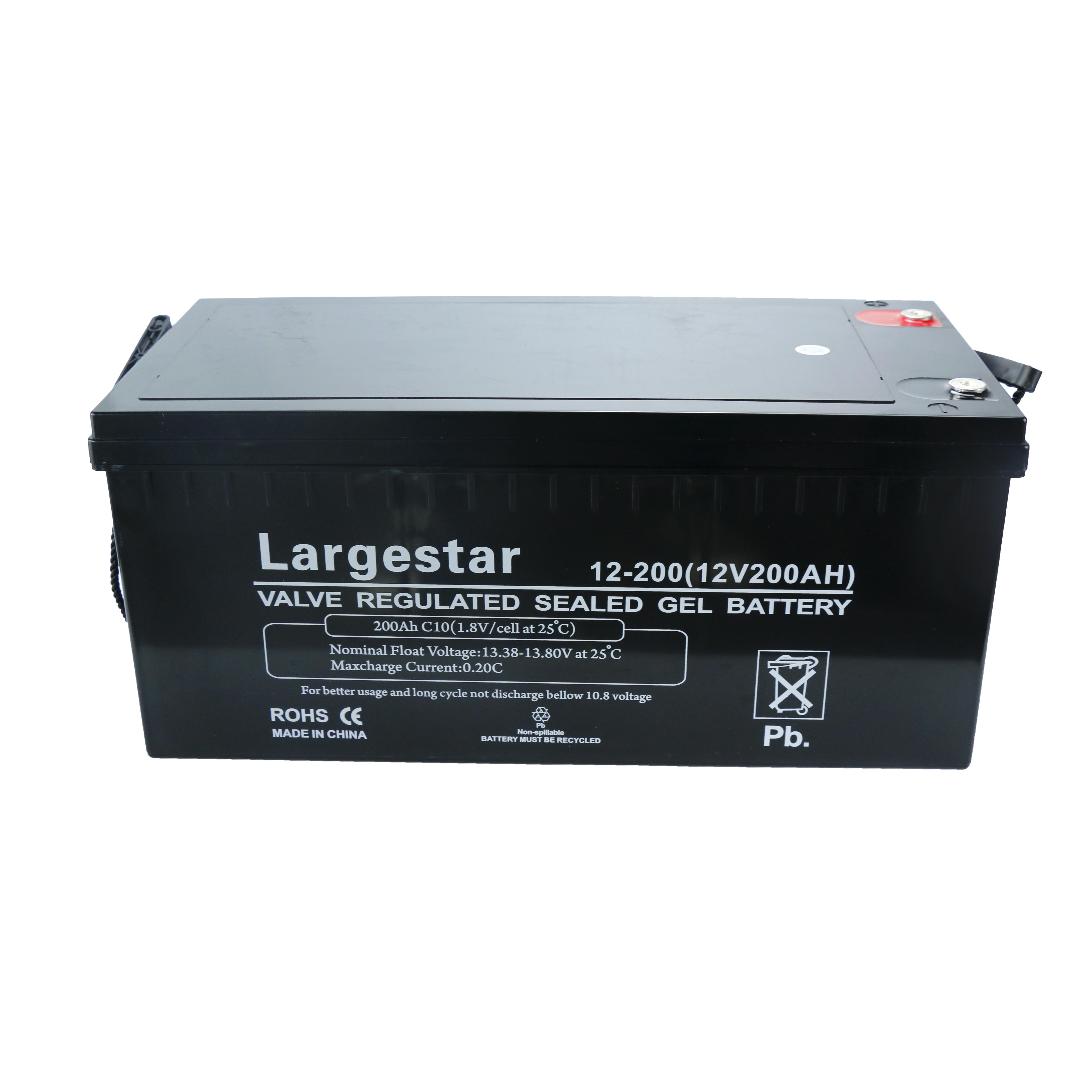 12v 200ah Lead Acid Deep Cycle Solar Power Storage Battery Buy Solar Battery Vrla Battery 12v Battery Product On Zhejiang Just Electrical Appliances Co Ltd