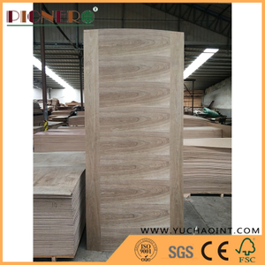 Natural Veneer Mold HDF Door Skin