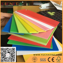 Colorful PVC Foam Board High Density Waterproof