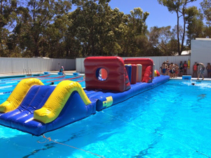 Hot Sale Summer Water Game Inflatable Obstacle Course for Kids And Adults