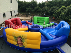 RB91019-1(dia 9m )Inflatables four people fierce ball game