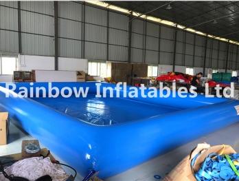 air tight pvc blue pool