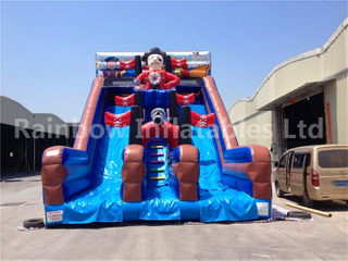 RB6052(10x6x7m) Inflatable Pirate Theme Slide For Kids