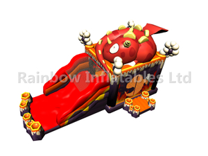 RB03102(10x4x4.5m)Inflatable Fire dragon combo for Kids