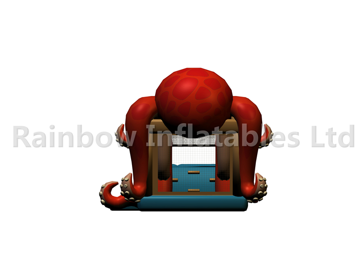 RB03101(10x4x4.5m)Inflatable Red octopus for Kids