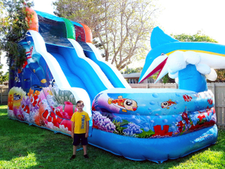Inflatable Water Slides Inflatable Water Park Slide