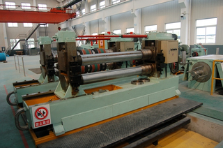 Automatic double cutter seat steel strip slitting machine quotation