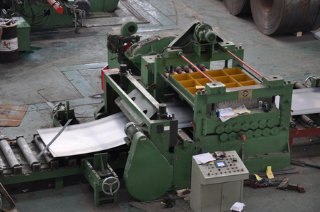 China hot sale professional metal coil cut to length machine factory/manufacturer