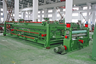 High speed heavy gauge medium-plate steel coil cut to length process