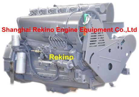 Deutz F6L912 Air cooled diesel engine for construction machinery 74-78KW